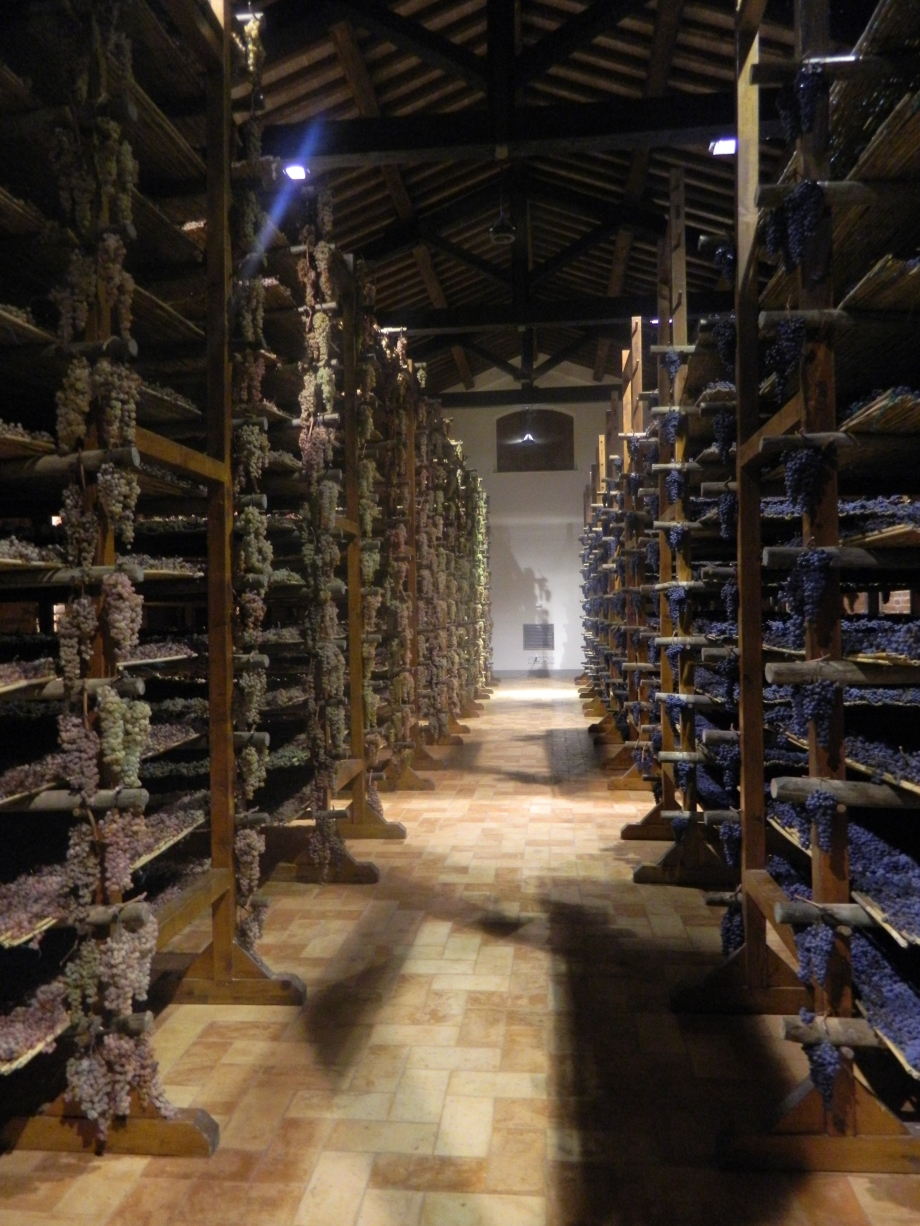 Visit to see Vin Santo being made on our gourmet food and wine tour