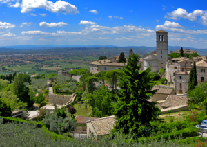 Citta della Pieve the base for our gourmet tours of Tuscany and Umbria