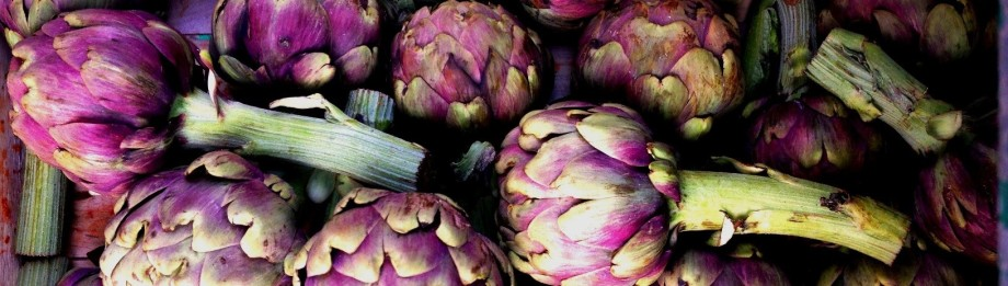 Artichokes, taken on an Italian food and wine holiday