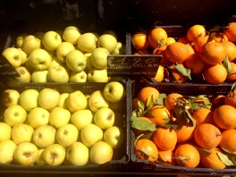 Italian food and wine tour- even the fruit is beautiful