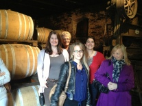 Wine Tasting - with the October 2012 tour group in tuscany